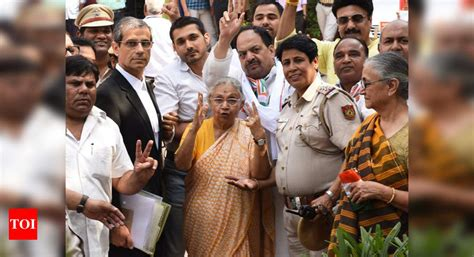 BJP, Congress candidates file nominations on last day in ...