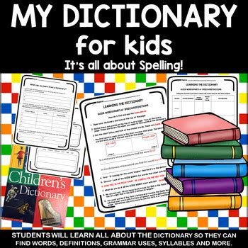 learning     dictionary  nanas cleverness tpt