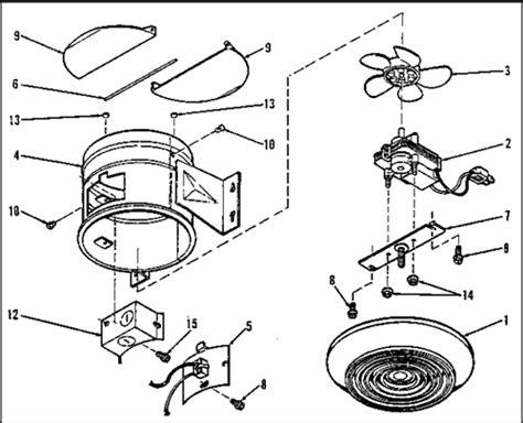 nautilus exhaust fan parts nautilus n673 exhaust fan parts