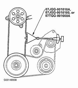 2003 Honda Odyssey Serpentine Belt Routing And Timing Belt
