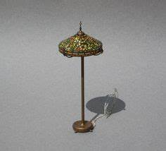 kummerows dollhouse tiffany lamp wisteria miniature With faux tiffany floor lamp