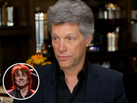 Jon Bon Jovi Richie Sambora Didn Show For Work