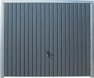 Porte De Garage Gris Anthracite : porte de garage basculante grise h200xl240 bricoman ~ Melissatoandfro.com Idées de Décoration