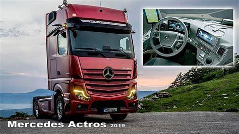 mercedes actros  interior  exterior  trucks