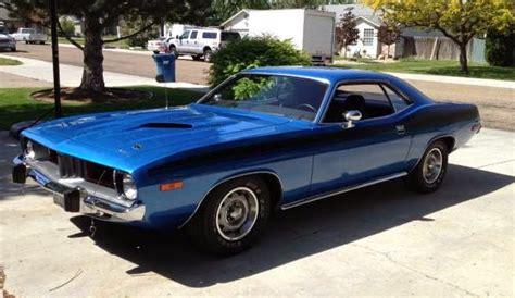 plymouth cuda  sale buy american muscle car