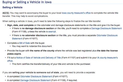 Transferring Ownership Of Vehicle In