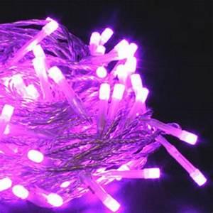 Guirlande Led A Pile Gifi : guirlande lumineuse piles 40 leds violettes deco lumineuse ~ Dailycaller-alerts.com Idées de Décoration