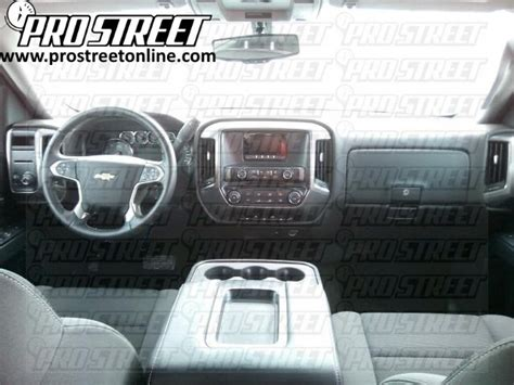 And Subwoofer Wiring Diagram Chevy Truck by How To Chevy Silverado Stereo Wiring Diagram
