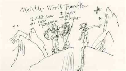 Roald Dahl Matilda Quentin Blake Wijngaards Edublog