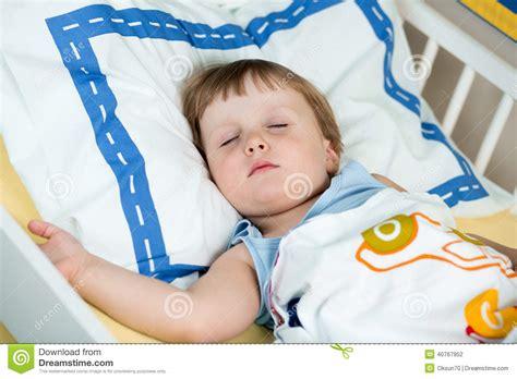 Kid Girl Sleeping Stock Photo Image 40767952