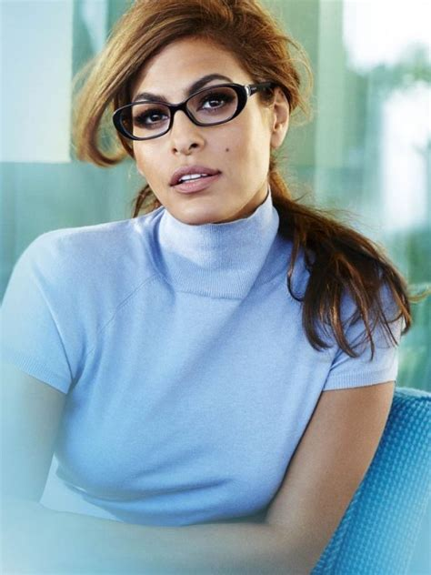 Eva Mendes The New Face Vogue Eyewear Daily News