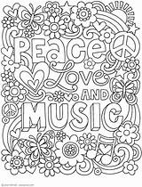 Coloring Adult Jess Volinski Colouring Doodles Books Activity Peace Printable Notebook Mandala Adults Malvorlagen Quotes Disney A4 Gemerkt Funny Abrir sketch template