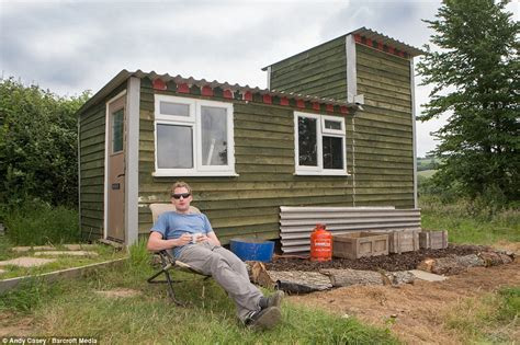 built  house   farm worker  constructs