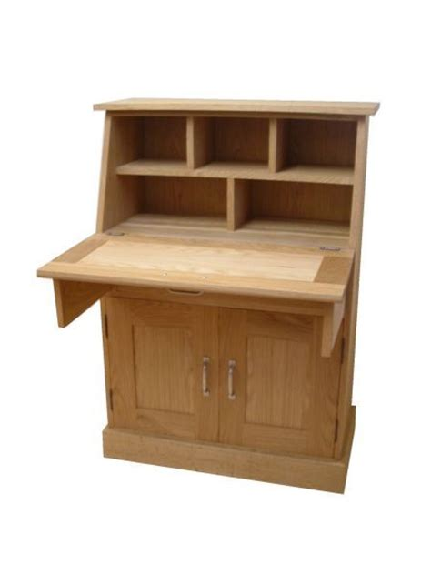 bureau desk uk oak bureau 2 door 1 drawer the kitchens furniture workshop