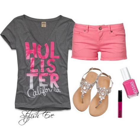 Spring-summer-2013-outfits-with-shorts-for-women-by-stylish-eve_01 - Stylish Eve