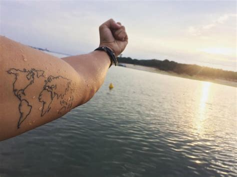 46 Wanderlust Tattoos For Anyone Obsessed With Travel ...
