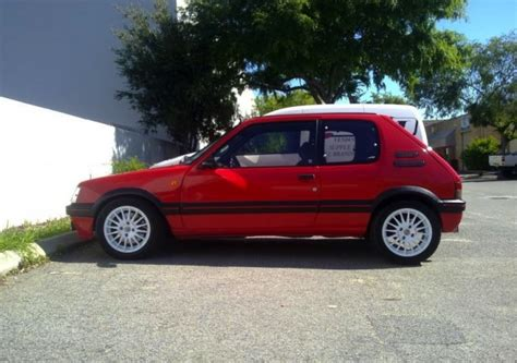 peugeot for sale australia for sale peugeot 205 gti with t16 engine only one in