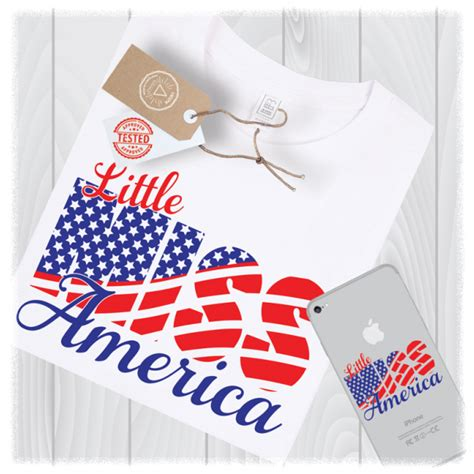 5 out of 5 stars. Little Miss America SVG Files 4th of July Girl Designs ...