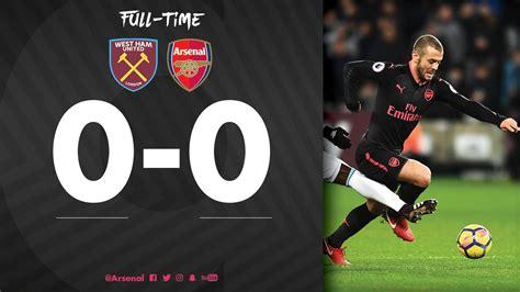 West Ham Vs Arsenal 0  0 [highlights Download]