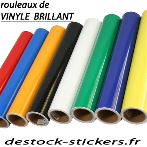 adhesif vinyle brillant rouleau de 10 mètres pour plotter