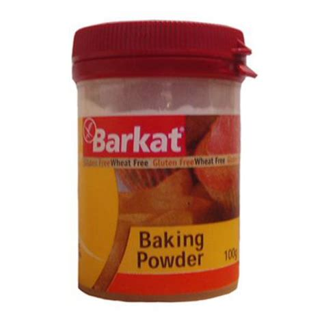 is baking powder gluten free baking powder in 100g from barkat