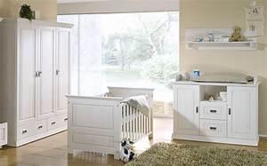 Babyzimmer Weiß Hochglanz : massivholz babyzimmer set odette wei kinderzimmer 3teilig kiefer massiv ~ Indierocktalk.com Haus und Dekorationen