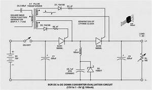 Dc Chopper Circuit Using Thyristors-scrs