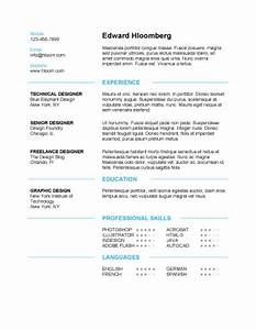 Clean resume template learnhowtoloseweightnet for Free resume layout templates