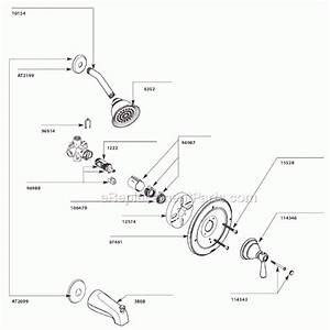 Moen Bathroom Faucet Parts Diagram