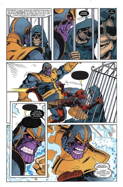 Preview Deadpool Vs Thanos #4 Allcomiccom