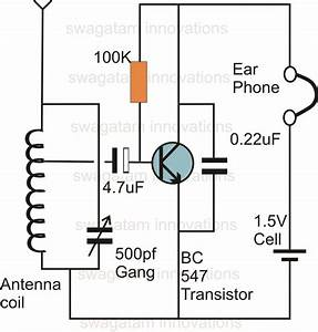 One Transistor Radio Receiver
