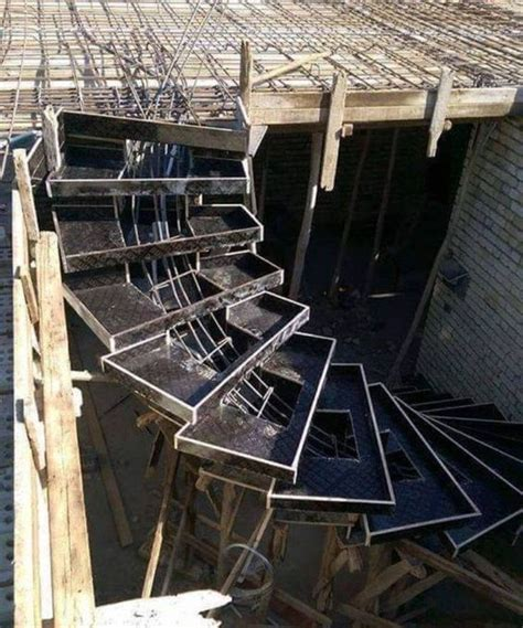 spiral concrete staircase formwork stair construction