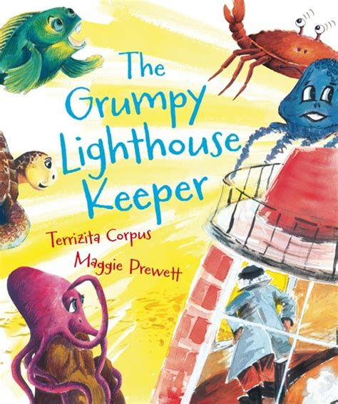 kids book review review  grumpy lighthouse keeper