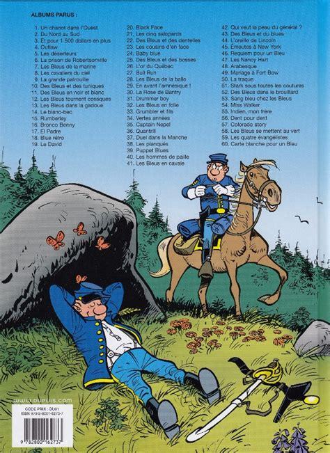 Carte Blanche Bleu by Les Tuniques Bleues 60 Carte Blanche Pour Un Bleu