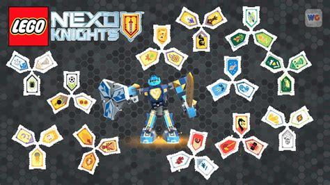 Nexo Knights Combo Shields To Scan