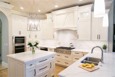 solid quartz backsplash kitchen kbf design gallery