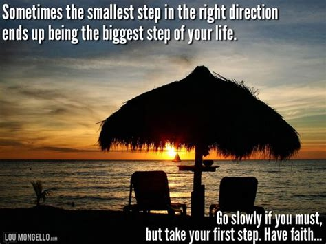 smallest step    direction ends