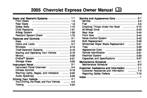 service repair manual free download 2005 chevrolet express 2500 engine control 2005 chevrolet express owners manual just give me the damn manual