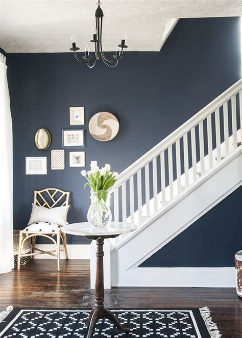 pottery barn sherwin williams beautiful navy entryway paint is sherwin williams naval