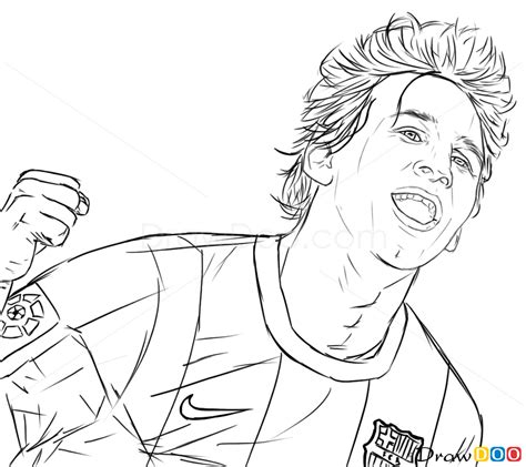 draw lionel messi celebrities   draw