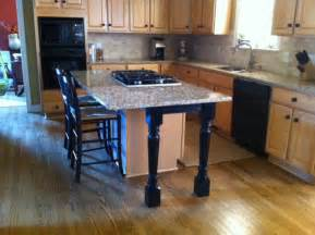 kitchen island legs wood kitchen island support legs and skirt make a beautiful difference osborne wood