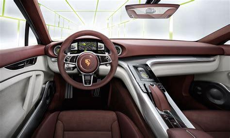 Porsche Panamera Sport Turismo Interior  Car Body Design