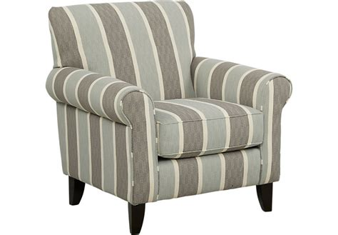 pennington blue striped accent chair accent chairs blue