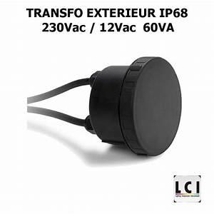 Transfo 220 12v : transfo tanche 220v 12v 60w transformateur ext rieur ip68 ~ Dode.kayakingforconservation.com Idées de Décoration