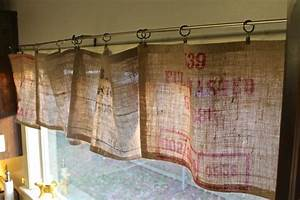 burlap valance 16 unique diy patterns guide patterns With diy christmas curtains