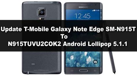 Install Official Android Lollipop On T-mobile Galaxy Note