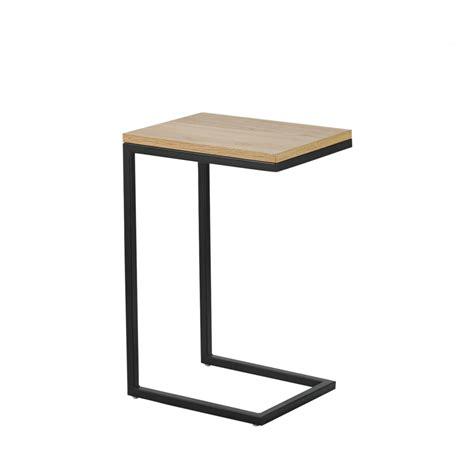 table bout de canapé bout de canapé bois et métal temmelig drawer