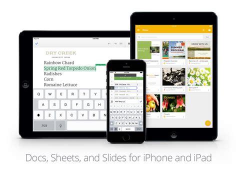 Google Docs, Slides และ Sheets บน iOS อัพเดท เพิ่มฟีเจอร์ ...