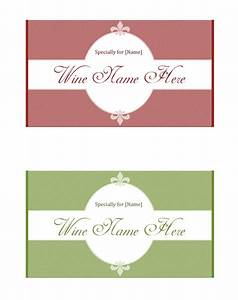 wine label template make your own wine labels With free wine label maker