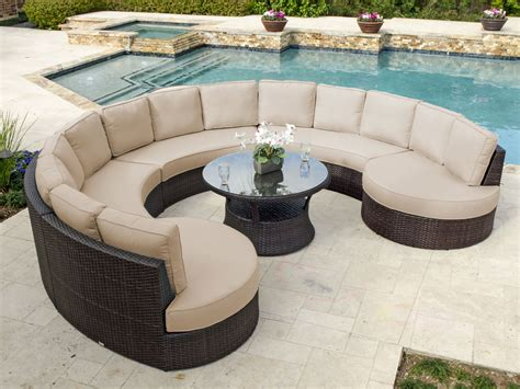 Patio Couches For Sale by Captivating Circular Outdoor Furniture Rounded